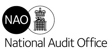 The National Audit Office (NAO) logo