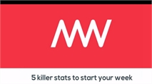 5 killer stats to start your week