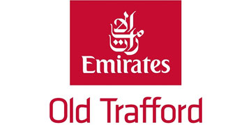 Emirates Old Trafford Lancashire County Cricket Club logo