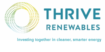 Thrive Renewables plc logo